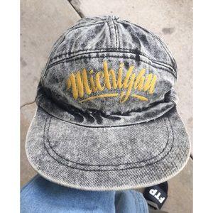 Vintage Michigan Wolverines Hat